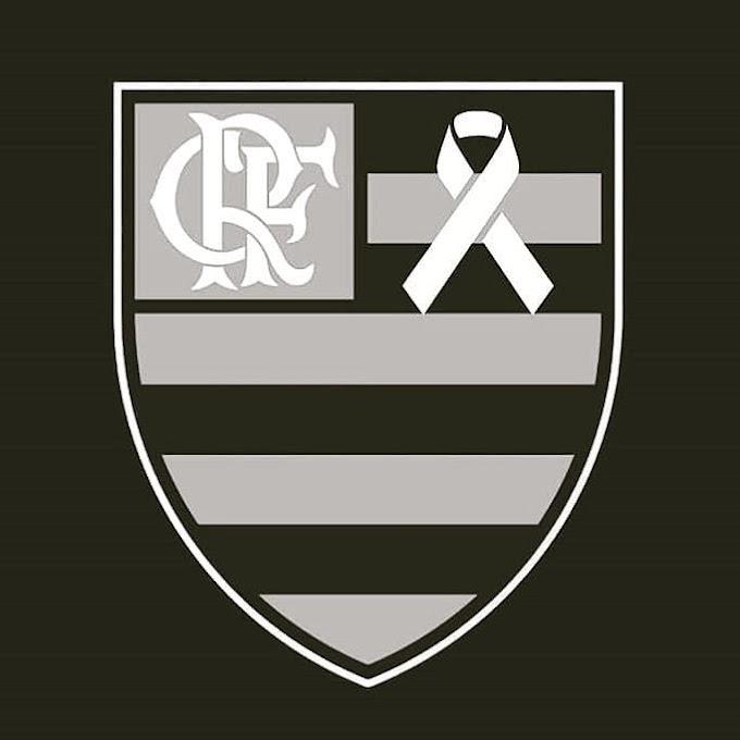 LUTO:  Pela Tragédia que aconteceu no Ninho do Urubu, CT do Clube de Regatas do Flamengo.