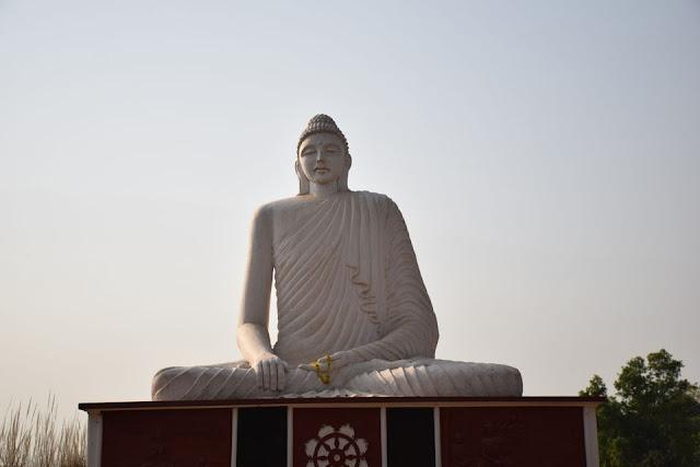 34 feet Buddha statue and Prakiti Bhavan @DoiBedouin
