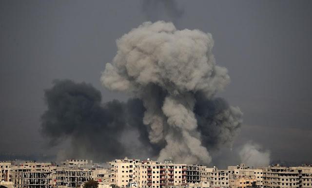 Ghouta sob ataque do governo sírio