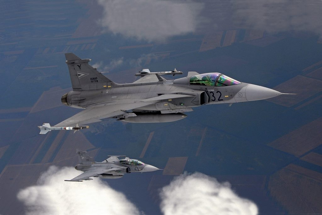 NATO Baltic Air Policing: Hungarian Gripens scramble for the