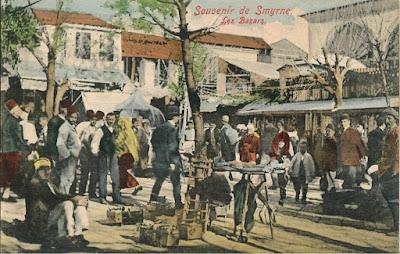 Σκηνή από την τουρκική αγορά της παλιάς Σμύρνης / Old Smyrna - Izmir Ramazan