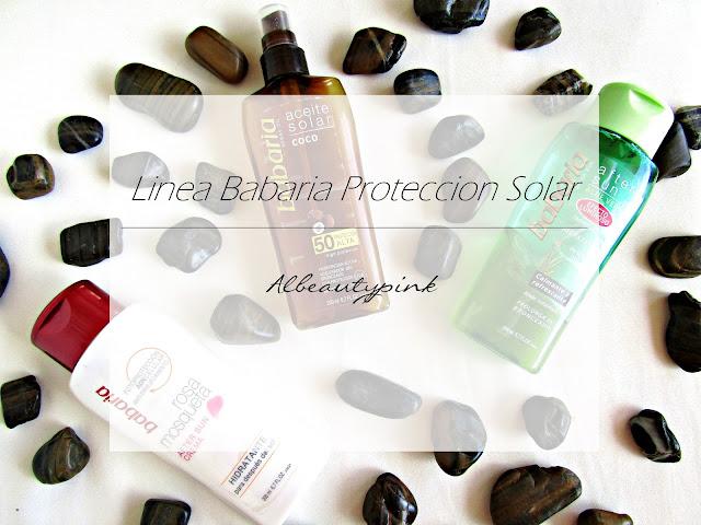 protectores solares babaria