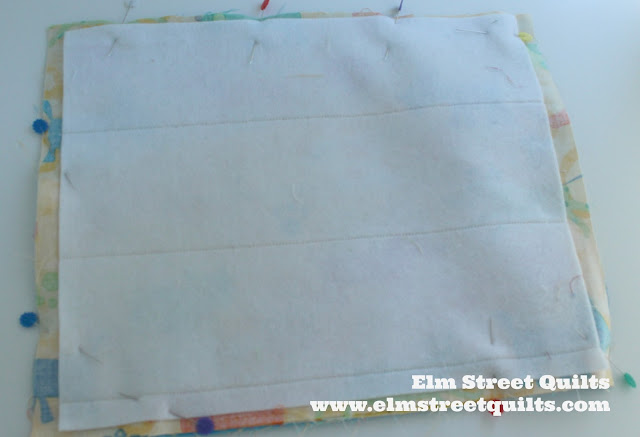 Elm Street Quilts Pencil Roll Tutorial