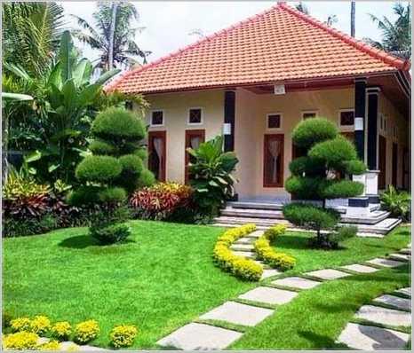 Contoh kecilnya adalah memangkas dedaunan tanaman yang ada di taman tersebut. Dengan begitu desain taman depan rumah yang Anda ... & Ide Buat Taman Depan Rumah Sederhana Kecil Minimalis