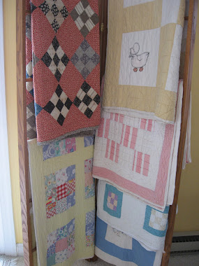 Old Patchwork and Applique Quilts