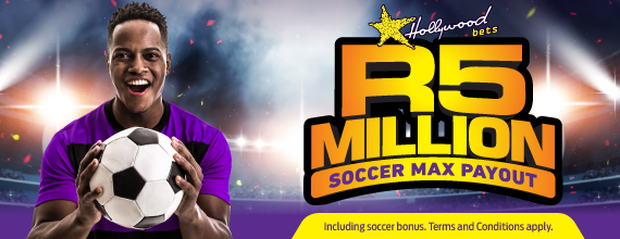 R5 Million Maximum Soccer Payout