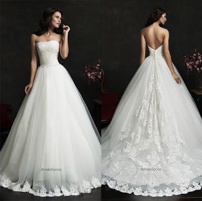 vestidos de noiva tomara que caia vestido princesa simples leve lindo maravilhoso top tqc renda costas v