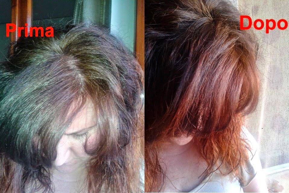tinta su capelli decolorati