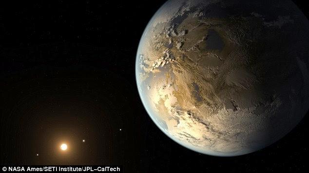 Astronom Menemukan Planet Layak Huni Mirip Bumi