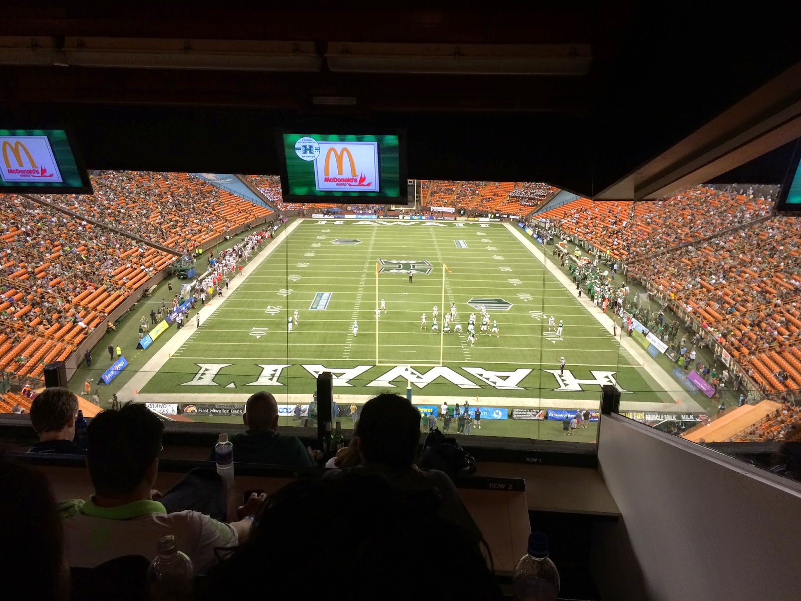 TASTE OF HAWAII: UNIVERSITY OF HAWAII FOOTBALL - ALOHA