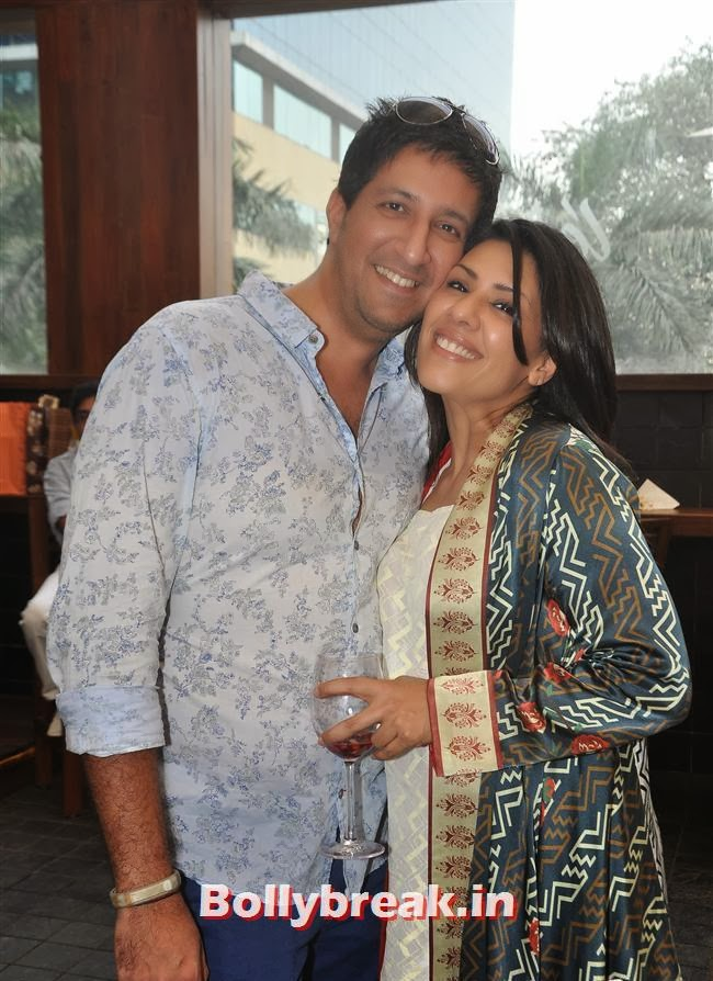 Sulaiman with his wife Reshma