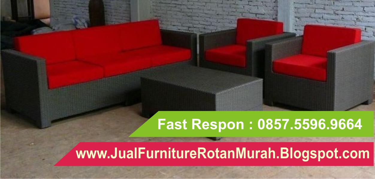 Sofa Rotan Modern Kursi Harga 0857 5596 9664