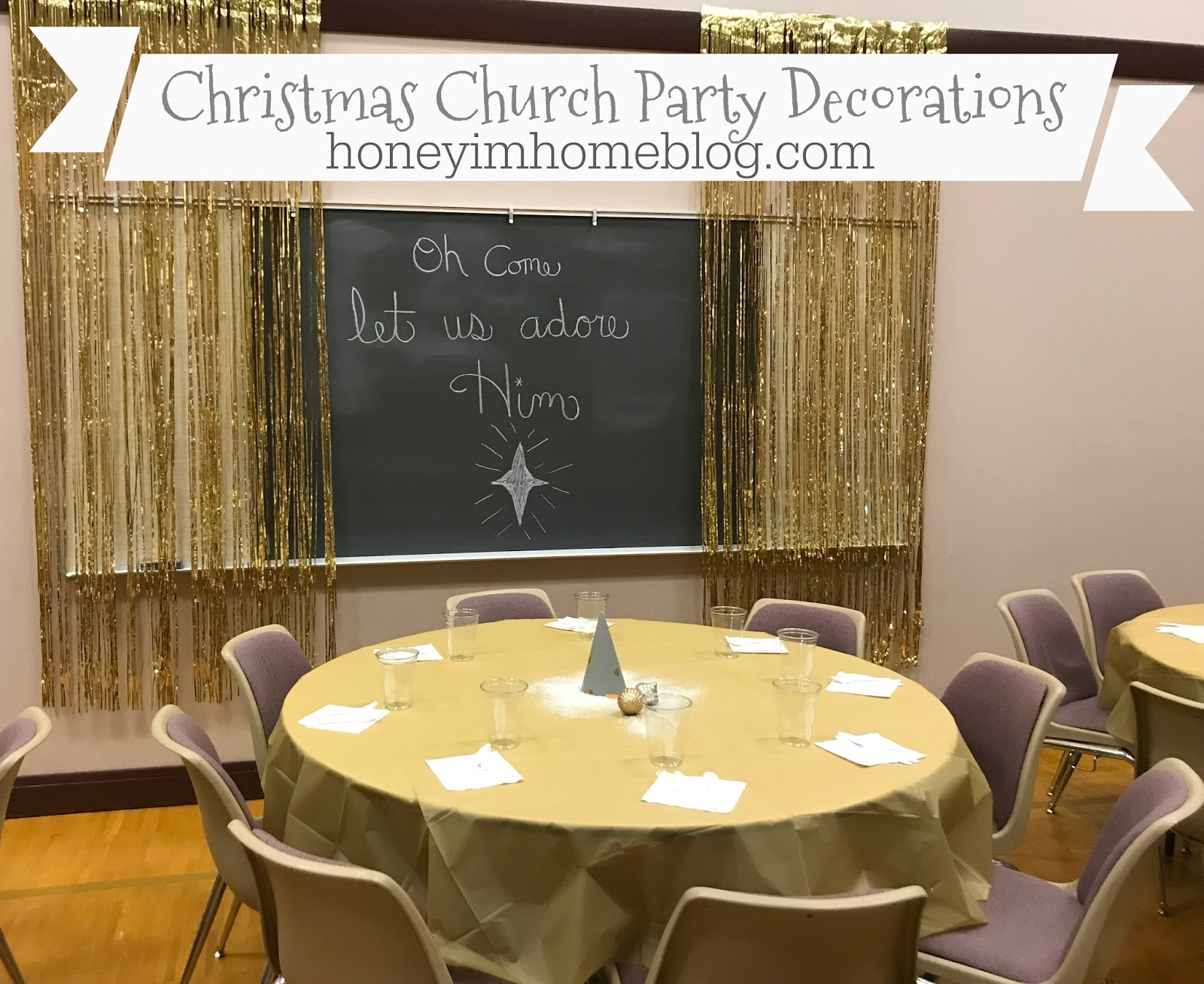 Honey I m Home Church Christmas Party Decorations