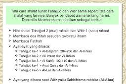 Cara Sholat Tahajud, Sholat Qiyamul Lail