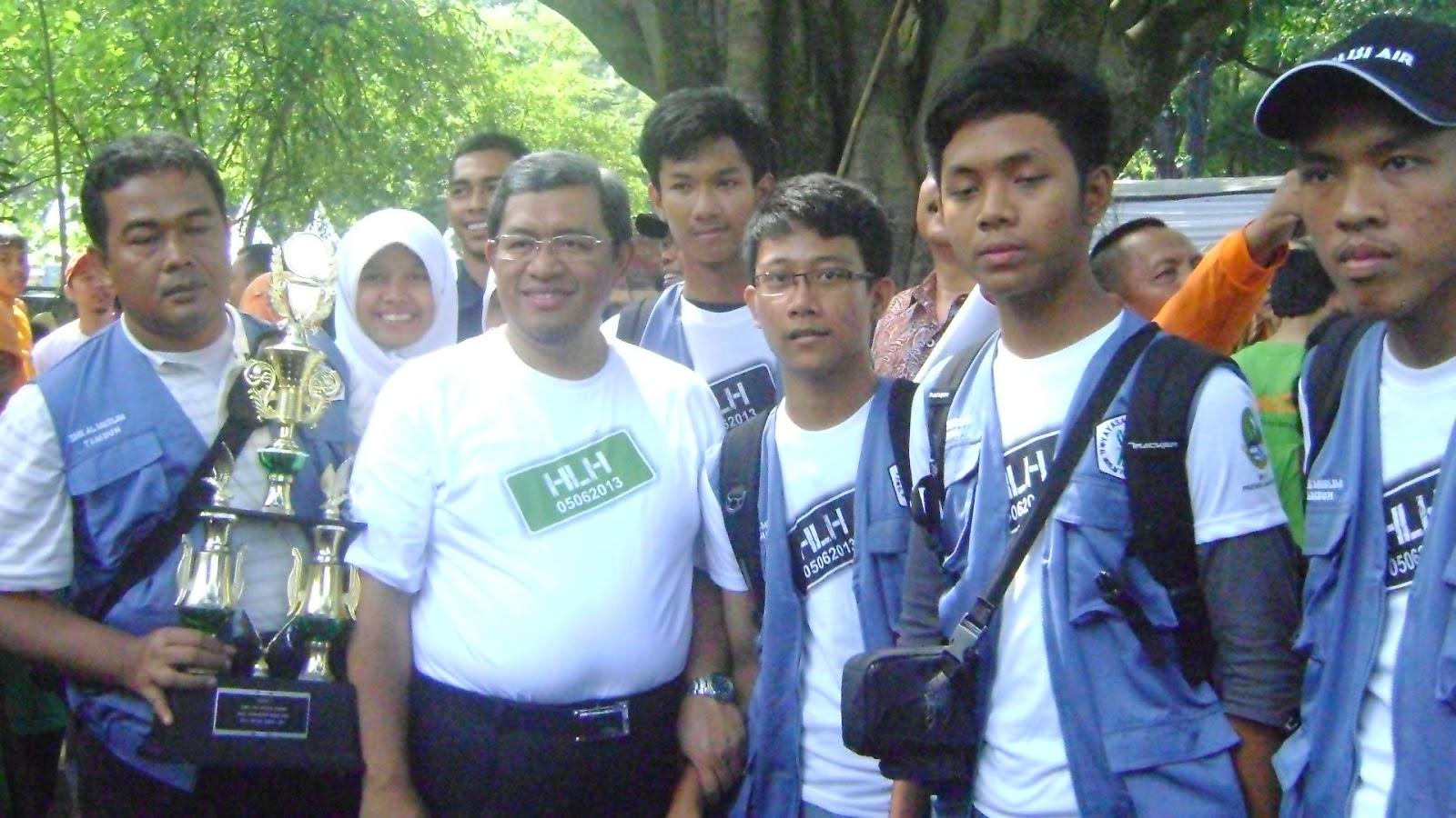 Jokowi Minta Siswa SMA Taruna Nusantara Berani Luruskan Berita Hoaks