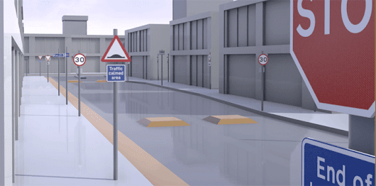Over 400 UK Road Signs for Unreal Engine 4