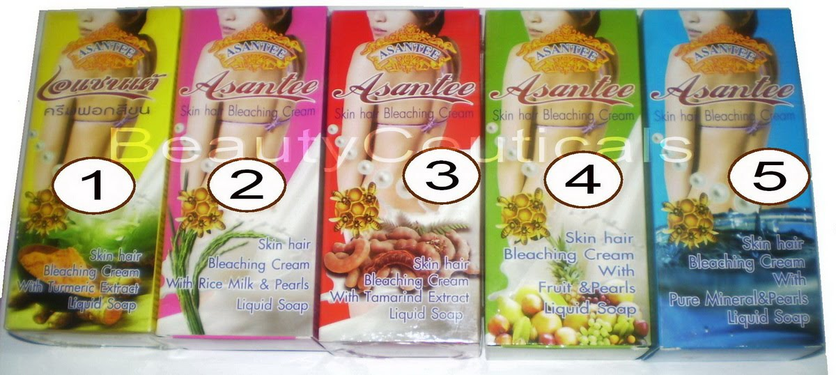 Asantee Skin Hair Bleaching Cream