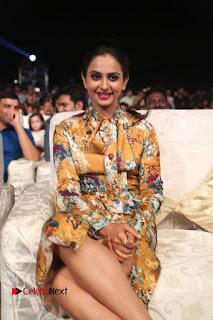 Actress Rakul Preet Singh Stills in Short Dress at Dhruva Pre Release Function  0117.JPG