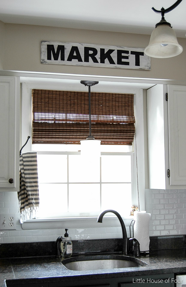 Diy Vintage Signs Made From Foam Board Little House Of