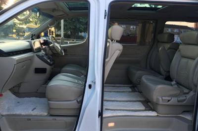 Interior Nissan Elgrand E51 Prefacelift