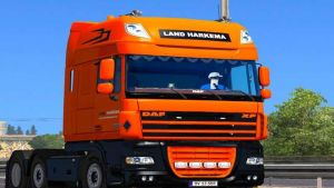 Land Harkmea Skin for DAF XF