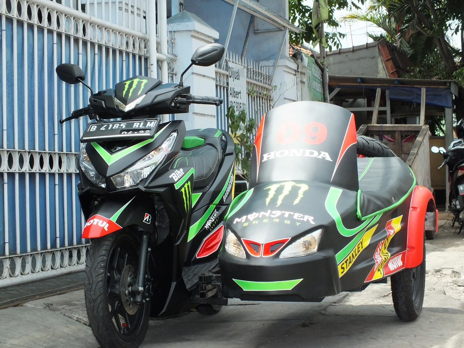 Modifikasi JOK MOTOR JOK VARIO 150 SESPAN Pesanan Mr SUTIYONO AMBON