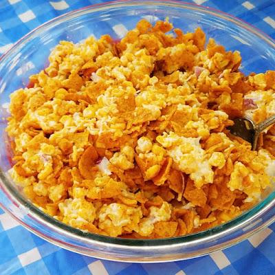 bowl of frito corn salad