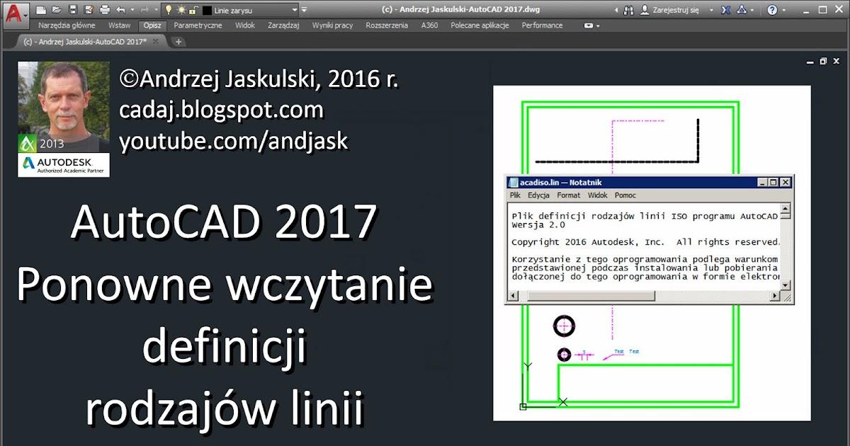 Autocad 2017 pl kurs video chomikuj