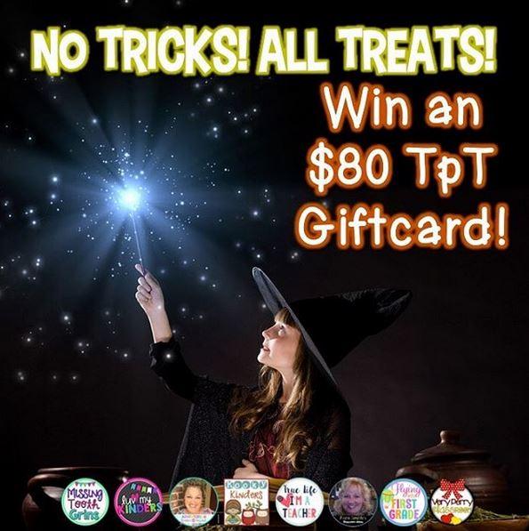 $80 TpT Gift Card
