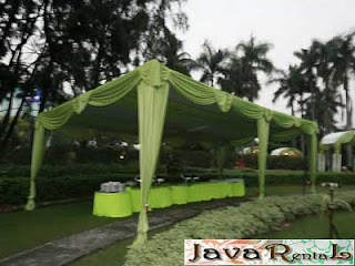 Sewa Tenda Semi Dekor - Sewa Tenda Semi Dekor Pesta
