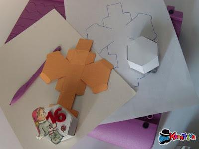 scatoline esagonali fai da te riciclando