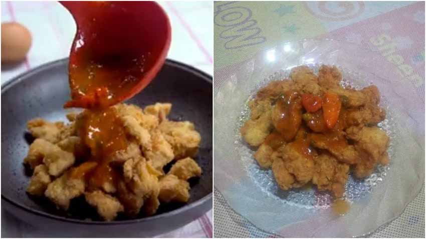 Resep Ayam Popcorn Saus Padang by Nia Charaga