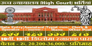 High Court Recruitment, Government Jobs, Sarkari Naukri
