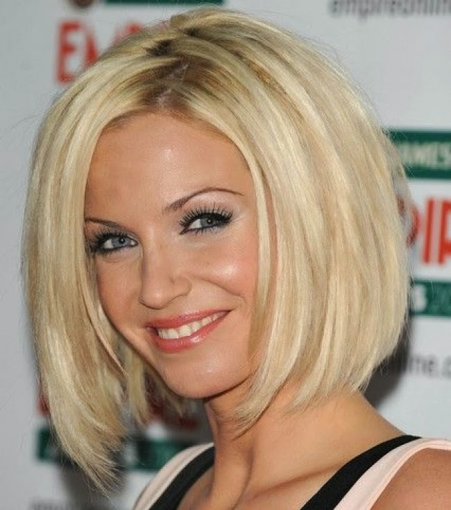 Brilliant Medium Length Bob Haircuts For Spring Summer 2014 Celebrity Hairstyle Inspiration Daily Dogsangcom
