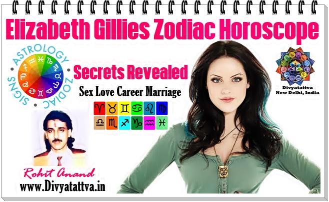 Elizabeth Gillies Vedic Horoscope Charts Love Zodiac Astrology Predictions