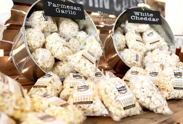 PoppedCorn Pallet Wood Popcorn Cart Wedding, Bliss-Ranch.com