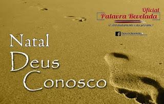 NATAL: DEUS CONOSCO