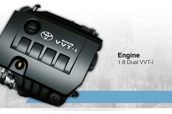 Performance All New Toyota Corolla Altis