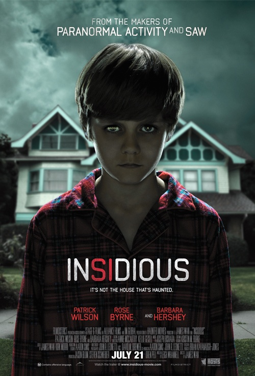 BLOOD WORK: HALLOWEEN HORROR DAYS ~ DAY 29: INSIDIOUS (2011)