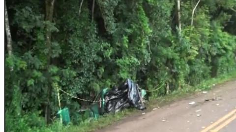 Grave acidente entre Catanduvas e Três Barras mata três pessoas