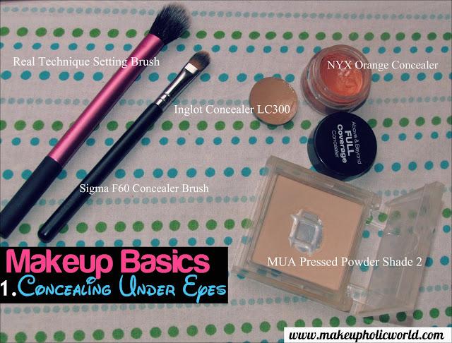 Makeupholic World Beauty Lessons: Concealing Under Eye Dark Circles