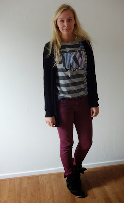 OUTFIT/ With my oldskool shirt!