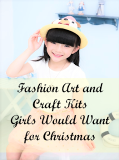 Fashion art and craft kits for girls