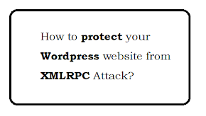 How to protect your wordpress website from xmlrpc attack