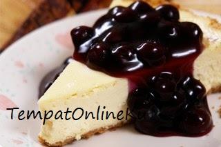 blueberry cheese cake spesial