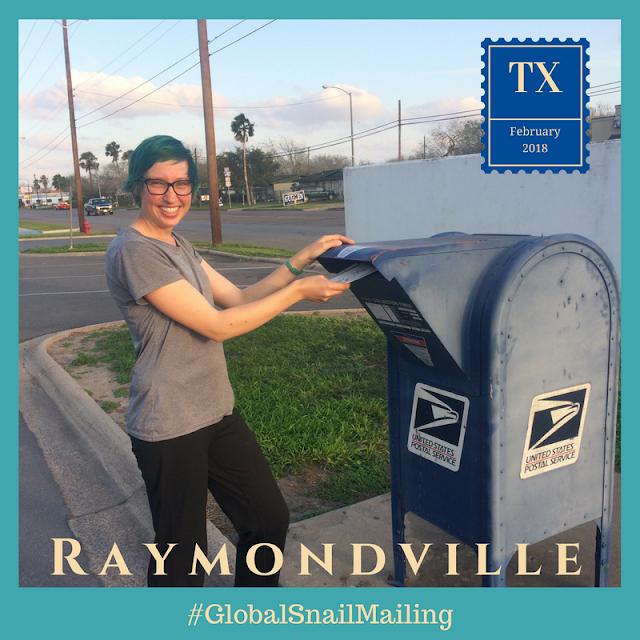 Raymondville TX global snail mailing