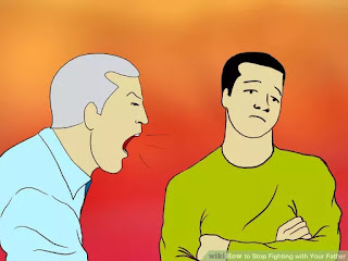 http://www.wikihow.com/Stop-Fighting-with-Your-Father