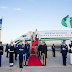 Photos: President Buhari Arrives Washington DC