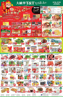 T&T Supermarket Canada Flyer February 16 - 22, 2018