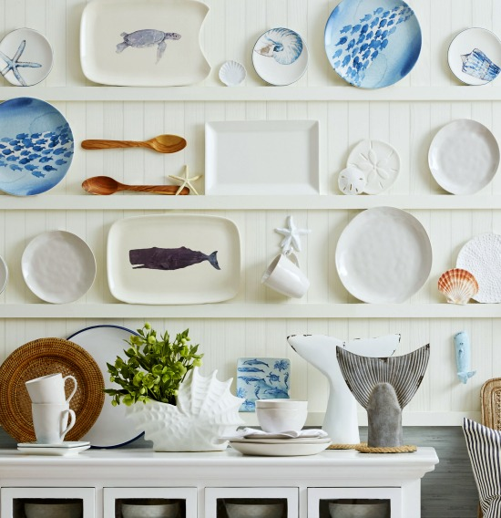Decorative Sea and Beach Inspired Plates